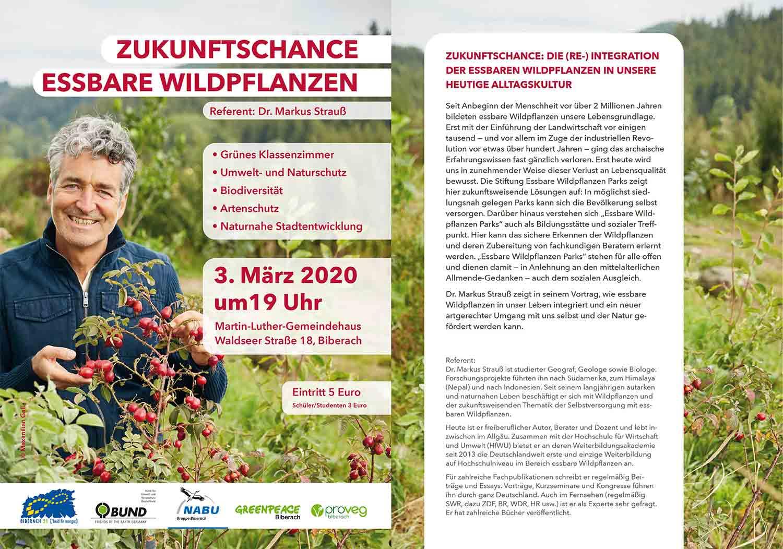 Essbare Wildpflanzen @ Martin-Luther Gemeindehaus
